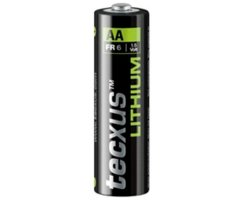 FR6 Batterie Lithium Power Mignon AA tecxus - 2er Blister