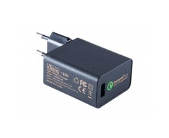 PSE50148 EU Quick Charge 2.0 Ladegeraet 5.0-9.0-12V, 15V,...