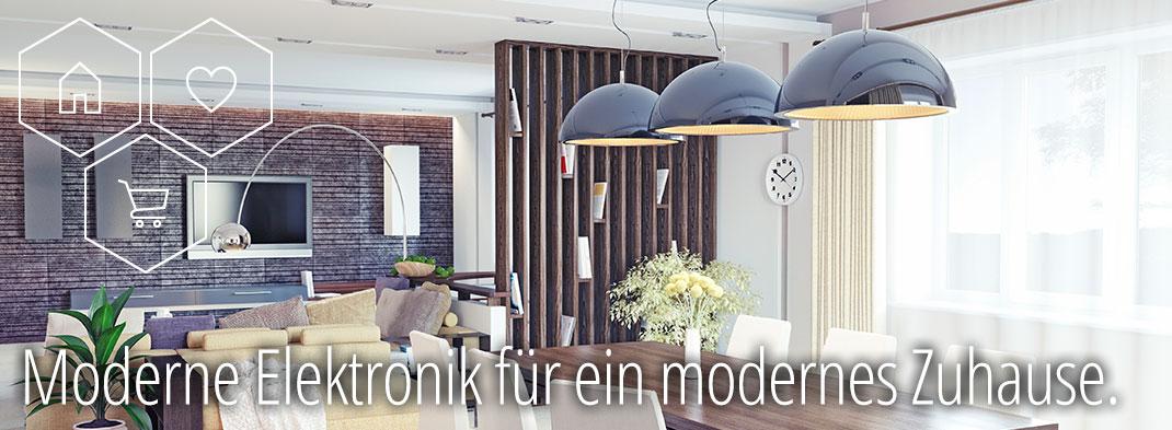 Moderne Elektronik für ein modernes Zuhause